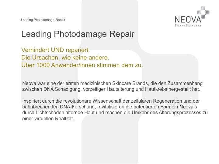 NEOVA Produkte Leading Photorepair